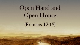 Open Hand and Open House