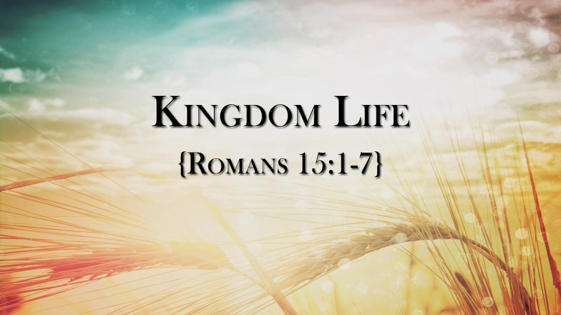 Kingdom Life, part 1