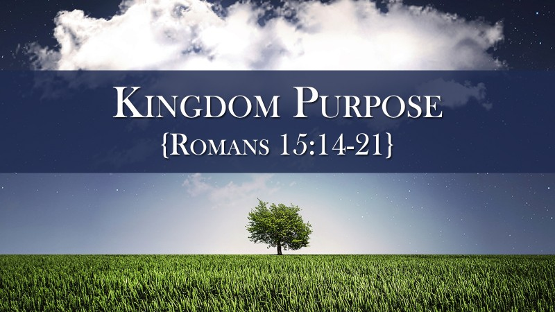 Kingdom Purpose