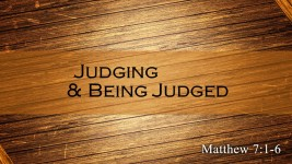 Judging and Being Judged