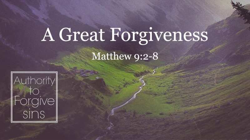 A Great Forgiveness - Matt Fike