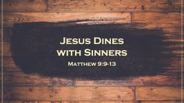 Jesus Dines with Sinners