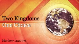 Two Kingdoms, One Choice, part 1