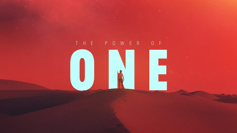 The Power of One: Holy Spirit Empowered