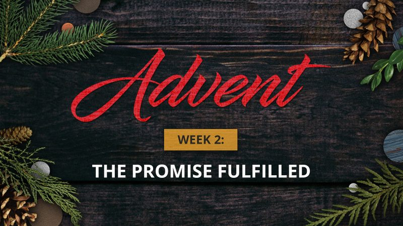 Advent Week 2: The Promise Fulfilled