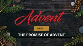 Advent Week 1: The Promise of Advent